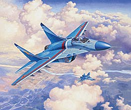 Revell of Germany MiG-29S Fulcrum -- Plastic Model Airplane Kit -- 1/72 Scale -- #03936