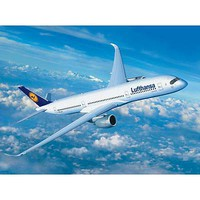 Revell-Germany Airbus A350-900 Lufthansa Plastic Model Airplane Kit 1/144 Scale #03938