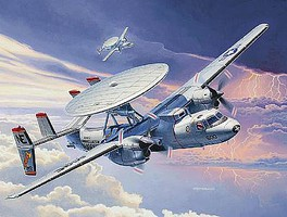 Revell-Germany E-2C Hawkeye Plastic Model Airplane Kit 1/144 Scale #03945