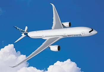 Revell of Germany Airbus A350-900 Aircraft (New Tool) -- Plastic Model Airplane Kit -- 1/144 Scale -- #03989