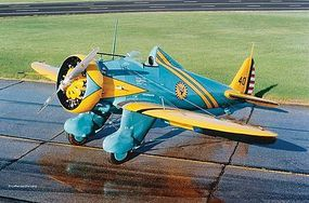 Revell-Germany P-26A Peashooter Plastic Model Airplane Kit 1/72 Scale #03990