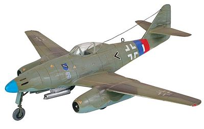 Revell of Germany Me262 A1A -- Plastic Model Airplane Kit -- 1/72 Scale -- #04166