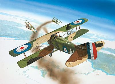 Revell of Germany Spad XIII C-1 -- Plastic Model Airplane Kit -- 1/72 Scale -- #04192
