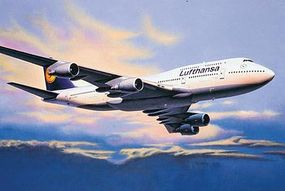 Revell-Germany Boeing 747-400 Plastic Model Airplane Kit 1/144 Scale #04219