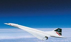 Revell-Germany Concorde Britsh Air Plastic Model Airplane Kit 1/144 Scale #04257