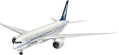 Revell-Germany B787-8 Dreamliner Commercial Airliner Plastic Model Airplane Kit 1/144 Scale #04261