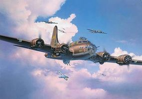 Revell-Germany Boeing B-17F Memphis Belle Plastic Model Airplane Kit 1/48 Scale #04297