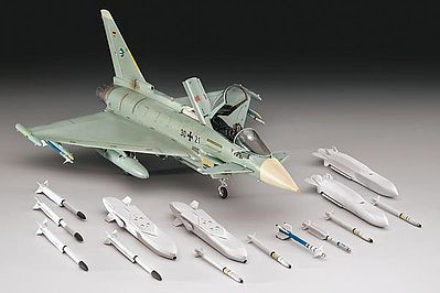 Revell of Germany Eurofighter Typhoon Single Seater -- Plastic Model Airplane Kit -- 1/72 Scale -- #04317