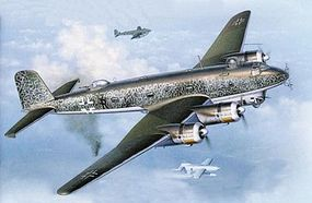 Revell-Germany Focke Wulf FW200 C-5/C-8 Condor Plastic Model Airplane Kit 1/72 Scale #04387