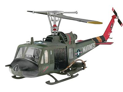 Bell UH-1C/B Huey Hog Plastic Model Helicopter Kit 1/48 Scale #04476