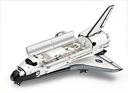 Revell-Germany Space Shuttle Atlantis Space Program Plastic Model Kit 1/144 Scale #04544