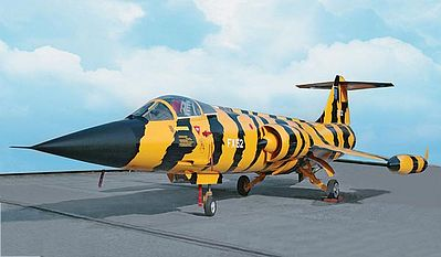 Revell of Germany F-104 G Starfighter -- Plastic Model Airplane Kit -- 1/48 Scale -- #04668
