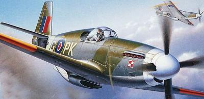 Revell of Germany 1/32 P-51 B Mustang III RAF