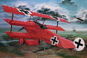 Revell-Germany Fokker DR.I Manfred Von Richthofen Triplane Plastic Model Airplane Kit 1/28 Scale #04744