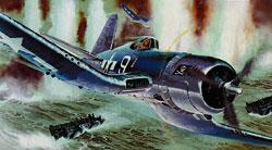 Revell of Germany Vought F4U-1D Corsair -- Plastic Model Airplane Kit -- 1/32 Scale -- #04781