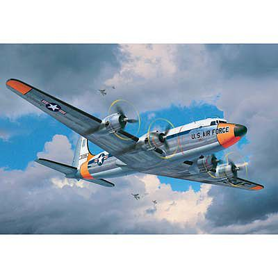 Revell of Germany C-54 Skymaster -- Plastic Model Airplane Kit -- 1/72 Scale -- #04877