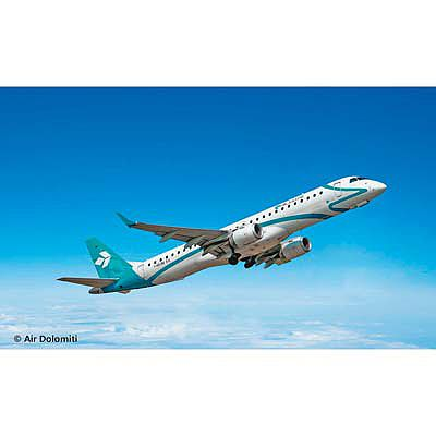 Revell-Germany Embraer 195 Plastic Model Airplane Kit 1/144 Scale #04884