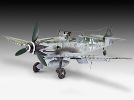 Revell-Germany Messerschmitt Bf109 G-10 Erla Bubi Hartmann Plastic Model Airplane Kit 1/32 Scale #04888