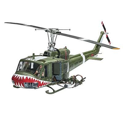 Revell of Germany Bell UH-1B -- Plastic Model Helicopter Kit -- 1/24 Scale -- #04905