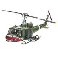 Revell-Germany Bell UH-1B Plastic Model Helicopter Kit 1/24 Scale #04905