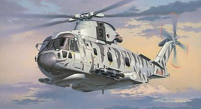 Revell-Germany AW101 Merlin HMA.1 Plastic Model Airplane Kit 1/72 Scale #04907