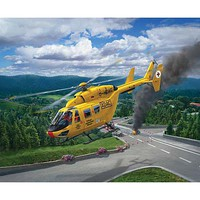Revell-Germany BK-117 ADAC Plastic Model Helicopter Kit 1/72 Scale #04953