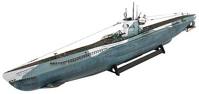 Revell of Germany U-Boat Type VIIC -- Plastic Model Military Ship Kit -- 1/72 Scale -- #05015
