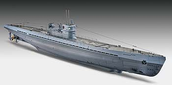 Revell of Germany German Submarine Type IX C -- Plastic Model Military Ship Kit -- 1/72 Scale -- #05114