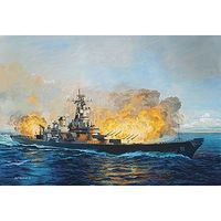 Revell-Germany Battleship USS New Jersey 1982 Platinum Plastic Model Military Ship Kit 1/350 Scale #05129