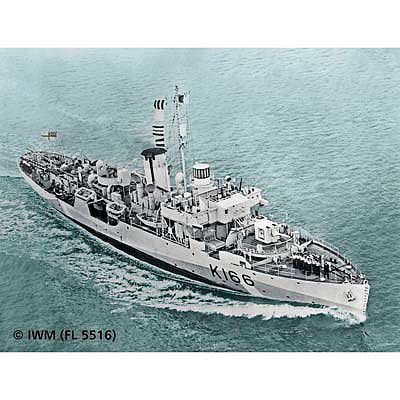 Revell-Germany Flower Class Corvette (Early) Plastic Model Military Ship Kit 1/144 Scale #05132