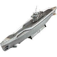 Revell-Germany German Submarine Type IX C/40 Plastic Model Military Ship Kit 1/72 Scale #05133