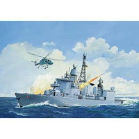 Revell-Germany German Frigate Class F122 Plastic Model Military Ship Kit 1/300 Scale #05143