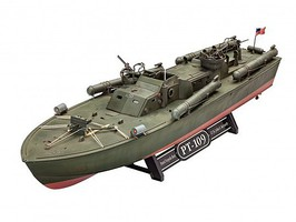 Revell-Germany PT109 Patrol Torpedo Boat (New Tool) Plastic Model Ship 1/72 Scale #05147