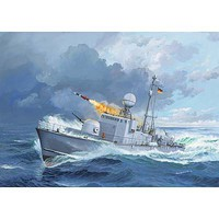 Revell-Germany Fast Attack Craft Albatross Class Plastic Model Military Ship Kit 1/144 Scale #05148