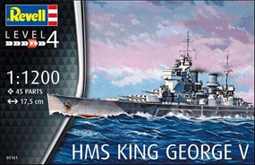 Revell-Germany HMS King George V 1-1200