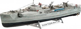 Revell-Germany 1/72 German Fast Attack Craft S100 Plastic Model Military Ship 1/72 Scale #05162