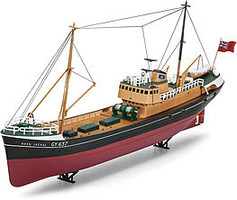 Revell-Germany North Sea Trawler Plastic Model Ship Kit 1/142 Scale #05204