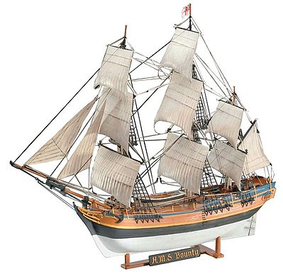 Revell-Germany H.M.S. Bounty Plastic Model Sailing Ship Kit 1/110 Scale #05404