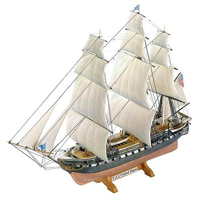 Revell of Germany United States -- Plastic Model Sailing Ship Kit -- 1/150 Scale -- #05406