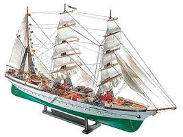 Revell-Germany Gorch Fock Sailing Ship Plastic Model Military Ship Kit 1/253 Scale #05412