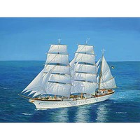 Revell-Germany Gorch Fock Plastic Model Sailing Ship Kit 1/150 Scale #05417