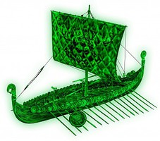 Revell-Germany Viking Ghost Ship 1-50