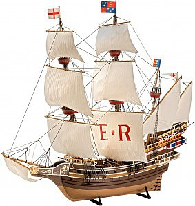 Revell-Germany 1/96 English Man O War Sailing Ship