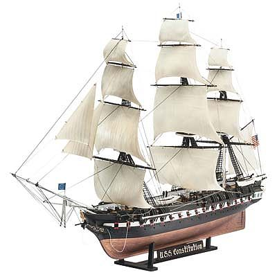 Revell-Germany USS Constitution Plastic Model Sailing Ship Kit 1/146 Scale #05472