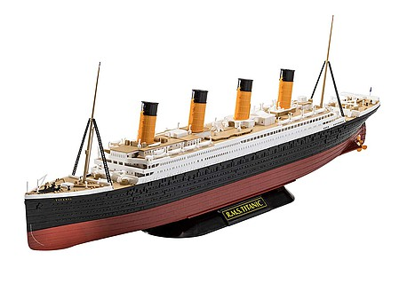 Revell-Germany RMS Titanic Easy Click Plastic Model Ship 1/600 Scale #05498