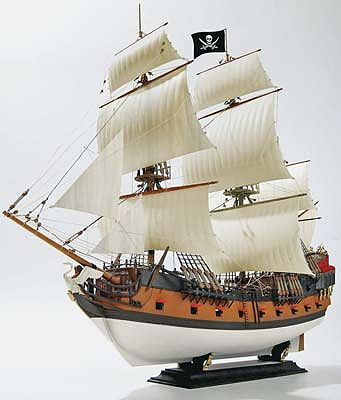 Revell of Germany Pirate Ship -- Plastic Model Sailing Ship Kit -- 1/72 Scale -- #05605