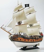 Revell-Germany Pirate Ship Plastic Model Sailing Ship Kit 1/72 Scale #05605
