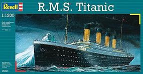Revell-Germany RMS Titanic Plastic Model Commercial Ship Kit 1/1200 Scale #05804
