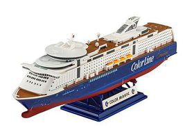 Revell-Germany M/S Color Magic Plastic Model Commercial Ship Kit 1/1200 Scale #05818