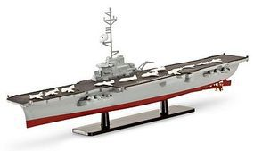 Revell-Germany French Aircraft Carrier Clemenceau R98 Plastic Model Military Ship Kit 1/1750 Scale #05898